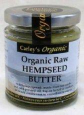 Carley's - Organic Raw Hemp Seed Butter - 170g