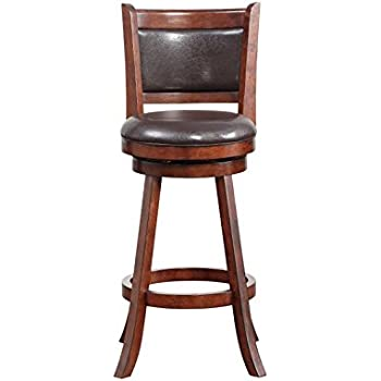 Amazon Com Boraam 48829 Augusta Bar Height Swivel Stool