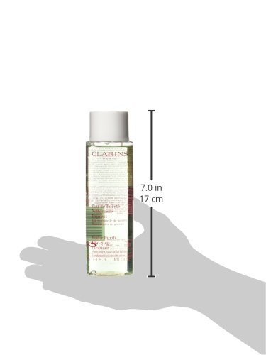 Clarins Water Purify One Step Cleanser with Mint Essential Water for Combination or Oily Skin, 6.80 Ounce