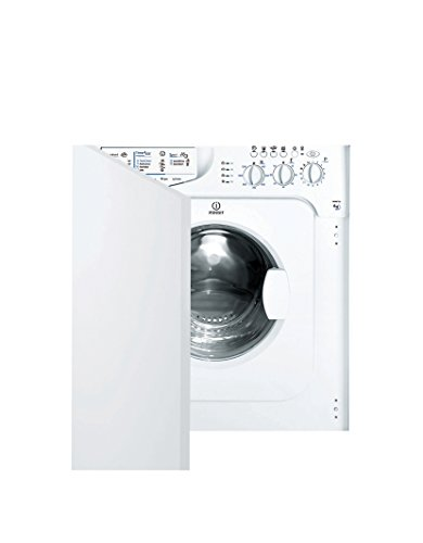 Indesit iwme 127 Integrated 7 kg 1200rpm A + White Front...