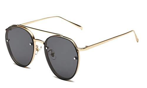 GAMT Round Aviator Sunglasses Metal Frame Vintage Hip Hop Wayfare For Men And Women