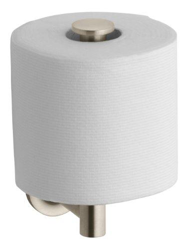Kohler K-14444-BV Purist Toilet Tissue Holder, Vibrant Brushed Bronze