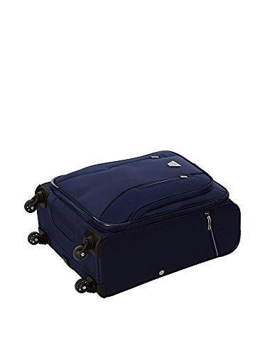 55 cm Roncato Azul Azul semirrígido 0 Trolley twpaqg
