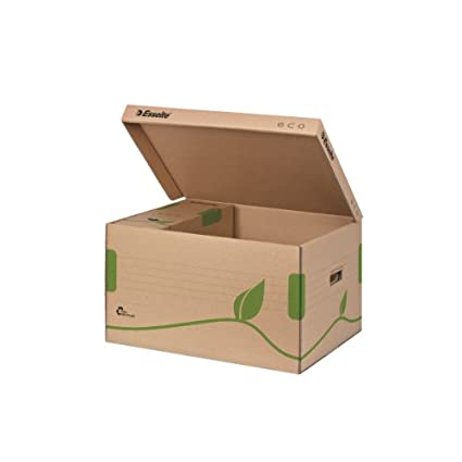 Karton Esselte 623916 Archiv Box ECO naturbraun 80 mm