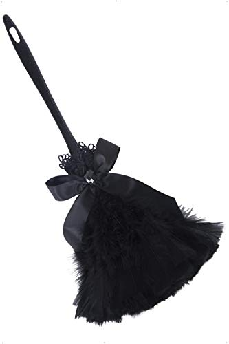 (Smiffy's Black feather duster One)