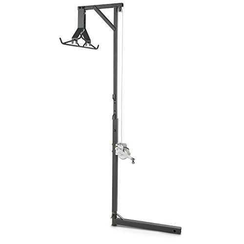 Guide Gear Deluxe Deer Hoist Gambrel, Swivel Hitch Lift System - Deluxe Hoist