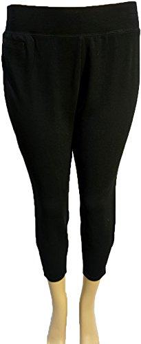 J. Jill Stretch Womens Leggings Black Side Zipper on Leg,Black,Large price tips cheap