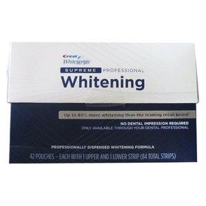 Crest Whitestrips SUPREME Professional Whitening - Crest Whitestrips Dental Whitening System