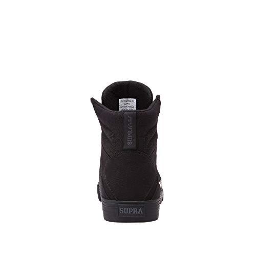 Shoe Supra Aluminum Black black Skate 0r1W4nq0