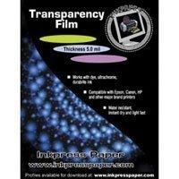 Inkpress Transparency Film - INKPRESS MEDIA 160 GSM, 7 Mil Paper (#ITF851150)