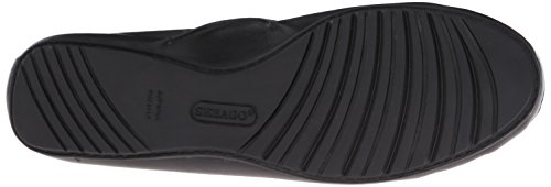 Tie Black Sebago Ballet Meriden Women's Leather Flat aqx7xE6