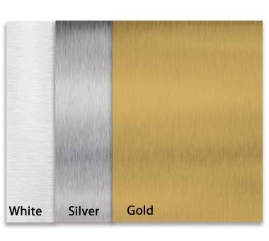 4 Pcs. Silver Aluminum Dye Sublimation Blank Board Heat Transfer Sheet Engraved A4 30 x 20cm