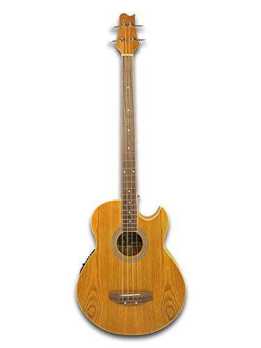 4 String Acoustic Electric Cutaway Bass Guitar ()