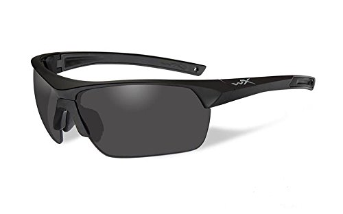 Wiley X Saber Advanced Tactical Sunglasses 3 Lens Pack Grey Clear Light - Wiley Advanced Saber X Sunglasses