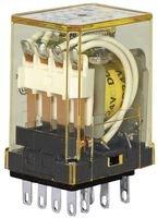 IDEC RY2S-UDC24V POWER RELAY, DPDT, 24VDC, 3A, PLUG IN (1 piece)