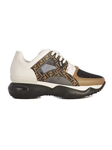 FENDI Men's 7E1217a63wf15v9 Beige Leather -