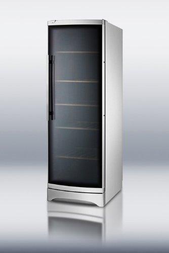 SUMMIT Commercial Series SWC1735C 24 Freestanding Wine Cellar 120-Bott