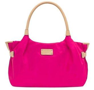 Kate Spade Pop Art Nylon Stevie Bag Purse Tote Pink