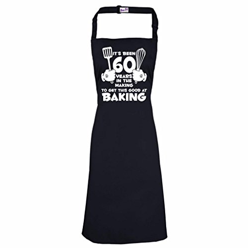 Women's 60th Birthday Apron It's Been 60 Years Baking 1957 Aprons Birthday Gifts (Presents 60th For)