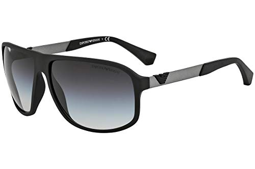 Emporio Armani EA4029 - 50638G Sunglasses Black w/ Grey Gradient Lens 64mm