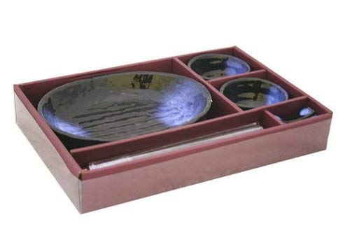 (Contemporary Dinnerware 7 PCS Sushi Dinner Set For Two)