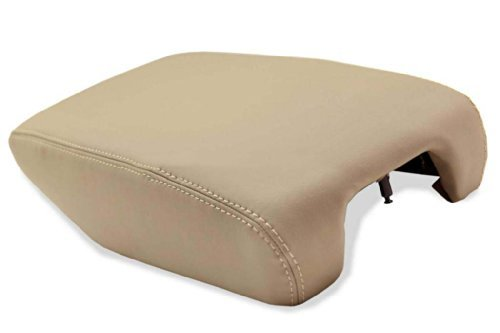 Fits 1999-2005 Lexus GS300 GS400 GS430 Real Tan Leather Console Lid Armrest Cover (Leather Part Only)
