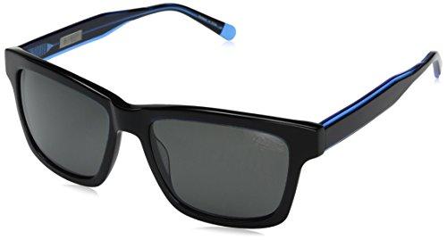 Original Penguin Men's the Merlin Sun Polarized Rectangular Sunglasses, Black, 53 - Penguin Sunglasses