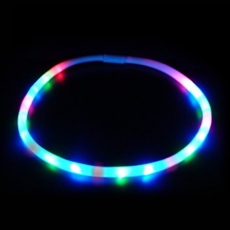 PartyLights Novelty Party Fun Novelty LED Chaser Necklaces (20-Light)