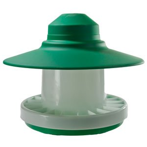 3kg Ascot Outdoor Feeder Complete With Legs Green and White Country Fayre (UK) Ltd