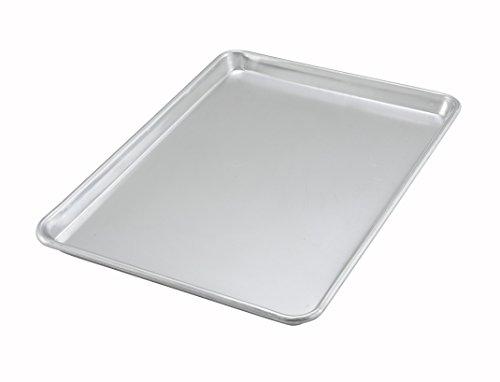 Winco ALXP-1318, 13x18-Inch Half-Size 18 Gauge Aluminum Baki