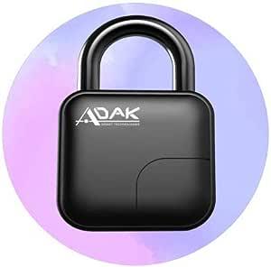 ADAK SMART PADLOCK (BLACK)