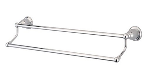 Kingston Brass BA175318C Heritage 18-Inch Double Towel Bar, Polished Chrome - Heritage 18 Towel Bar