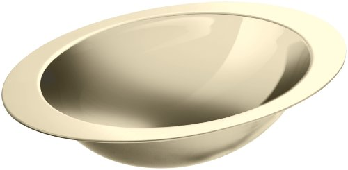 KOHLER K-2602-MF Rhythm Undercounter Bathroom Sink, Mirror French Gold