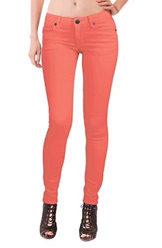 amp; Per Jeans Donne Corallo Hybrid Elasticizzati Company 4pdWIaq