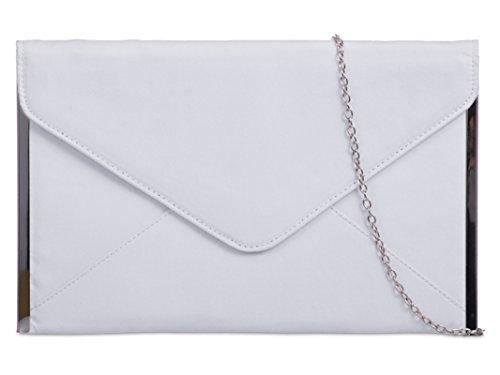 multicolore femme Pochette pour Blanc fi9 gris 7qYtwaqWA