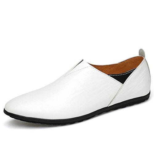 Fisca Mocassins pour Homme - Blanc - Blanc 9rZaif17jO,