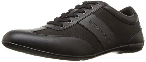 Emporio Armani Men's Sneaker, Black, 9 Regular UK (10 US) (Uk Armani)