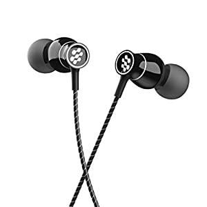 Florid Bass Machine 009 in-Ear Metal Wired Earphones with Mic and in-Line Control | Extra Bass & HD Sound | 1.2 Meters…