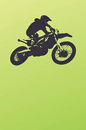Motocross Notebook: Cool for Everybody, Drawing and Writing (110 Pages, Blank, 6 x 9)(Great Notebooks) (Motorcycle)