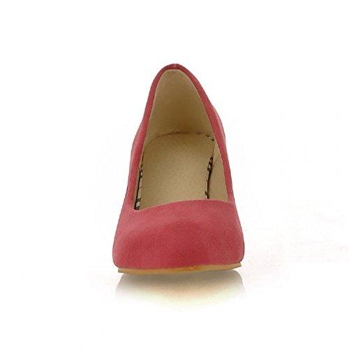 Womens Heel Pumps Shoes Red Charm Foot Charm Mid Foot Fashion fFIzq