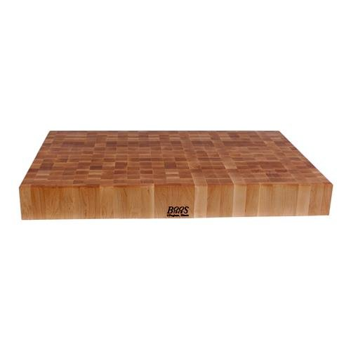 John Boos Maple Wood End Grain Butcher Block Cutting Board, 30 Inches x 24 Inches x 4 Inches - Butcher Block Restaurant