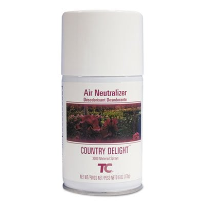 Tc Microburst Odor Control System, Country Delight, 6 Oz Aerosol, 12/carton by Rubbermaid (Image #1)
