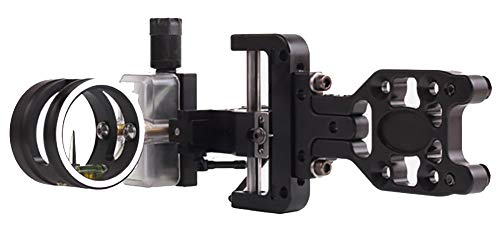 Sword Sights Judge 1.5 Hybrid Compound Bow Archery Sight –Right Handed – Single Up Pin - Fixed Mounting Plate - For Hunting, 3D and Competitive Shooting (Standard Judge)