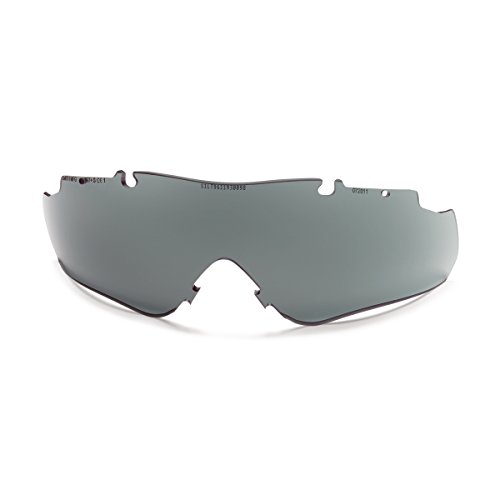Smith Optics 2015 Aegis Arc/Echo/Echo II Elite Tactical Eyeshield Replacement Lens - Pack of 50 (Gray Lens - Pack of 50)