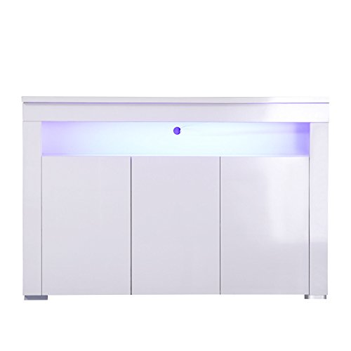 High Gloss Sideboard With Led Lights in Florida - 8