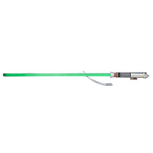 Star Wars: The Black Series Luke Skywalker Force FX Lightsaber ()