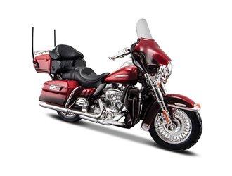 Maisto Electra Glide Ultra Limited FLHTK (2013) Diecast Model Motorcycle - Davidson Motorcycle Sales Harley
