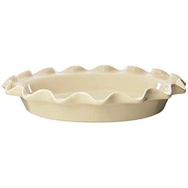 Rose Levy Beranbaum's Perfect Pie Plate, 9-Inch, Ceramic, Wheat