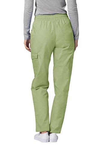 Ospedale Uniforme Pantaloni Donna Camice Medico Adar sage Verde Da HBYZxq