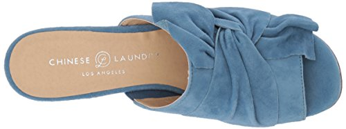 Chino Laundry Mujeres Marlowe Slide Sanda Blue Suede